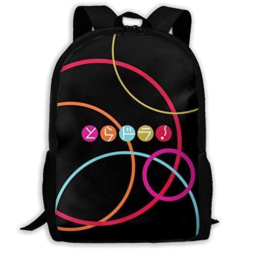 XCNGG Mochila Escolar con Logotipo de Toradora, Mochila Deportiva Informal para Adolescentes, Mochila para Ordenador portátil de Viaje para Estudiantes y Mujeres para Hombres y Mujeres