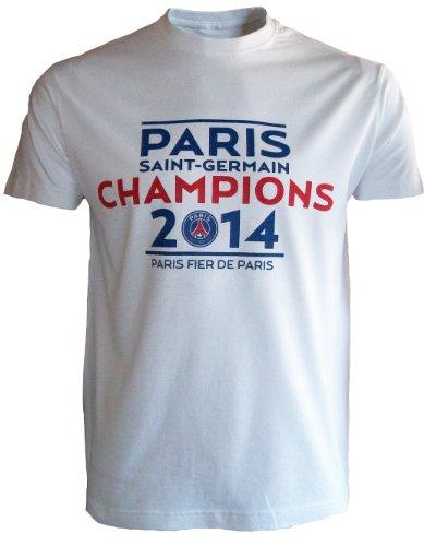 Paris Saint Germain–Camiseta Champion de France 2014–Colección Officielle Paris Saint Germain–fútbol Ligue...