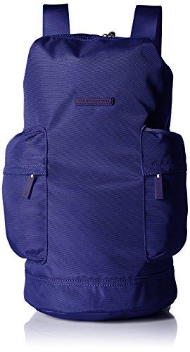 Tommy Hilfiger Alexander – Bolso de nailon con diseño de barril, color naranja, Azul marino brillante ,…
