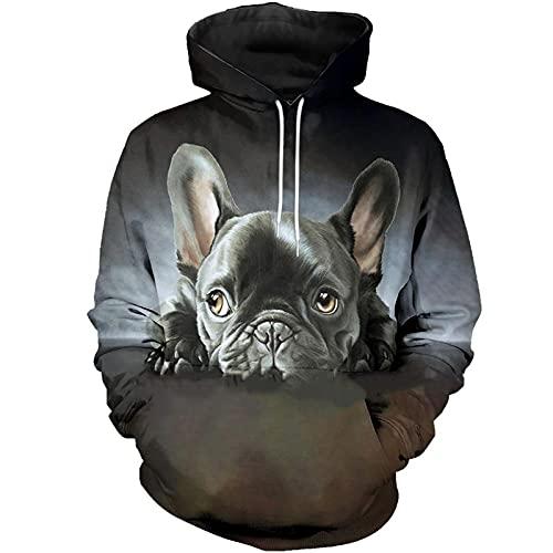 French Bulldog 3D Printed Hoodie Harajuku Streetwear Pullover Autumn Sweatshirt Unisex Casual Jacket Tracksuits