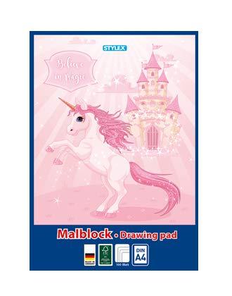 Malblock XL / 100 Blatt / DIN A4 / Zeichenblock /