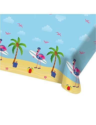Afwasbaar Hawaii tafelkleed Flamingo // 180 x 130 cm