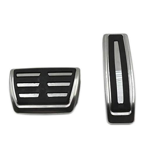 Cubierta de reposabrazos de puerta y ventana Fit For Audi Q7 / Porsche Cayenne / Volkswagen Touareg Acelerador de freno del reposapiés resto del pie del cojín del pedal del coche accesorios de estilo