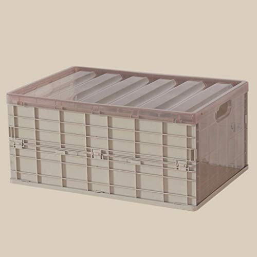 WYFDC - Custodia pieghevole resistente con coperchio, impermeabile, spessa e pieghevole, per coperta, vestiti, libri sotto il letto in auto (colore cachi, dimensioni: piccolo)