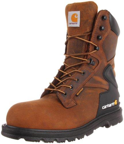 Carhartt Men's CMW8200 8 Steel Toe Work Boot,Bison Brown,10 M US