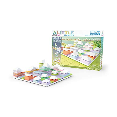 Arckit-Little Architect Modelo Escala, Color Blanco Play
