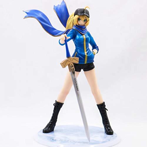 CJH Fate Stay Night Saber Arturia Pendragon Action-Figur Athletisch Wear.Ver Modell-Geschenk-Spielzeug Dekorationen Fate Zero-Puppe Ornamente