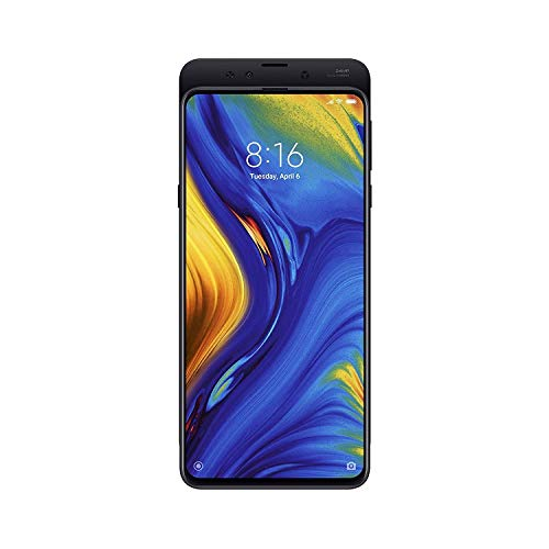 Xiaomi MI Mix 3 (128GB, 6GB) 6.39' Display, Dual SIM 4G LTE GSM Unlocked Multi-Functional Magnetic Slider Smartphone w/Wireless Charging Pad (Black)