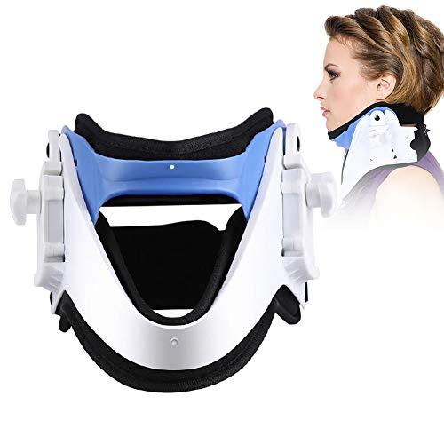 Dispositivo de tracción del Cuello, Aparato Cervical Soporte para el Cuello, Alivio del Dolor, Relajación del Cuello, Prevenir el Dolor de Cuello, Dolor de la Columna Vertebral