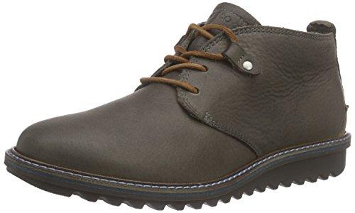 Ecco Damen ELAINE FLATFORM Chukka Boots, Braun (WARMGREY/WHISKY 58902), 37 EU