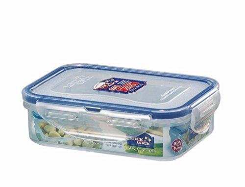 LOCK & LOCK 3Stück Frischhaltedose, Aufbewahrungsbox, transparent, rechteckig, 151x 108x 45mm, Set by Danto®