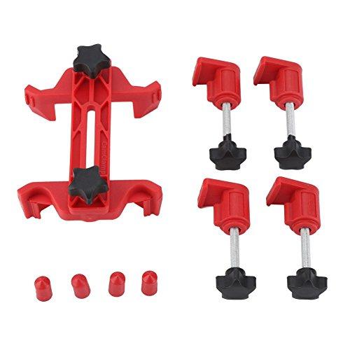 Zerodis Dubbele Cam Klem 9 Stks/Set Universele nokkenas tandwiel vergrendeling Motor Timing Tool Kit Auto Cam Gear Klem en Houder Set