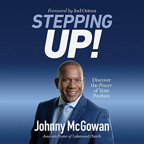 Stepping Up! audiobook cover art