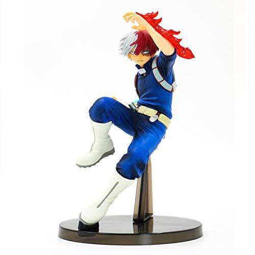 GYCOZ Decoración hogareña Anime My Hero Academia Figura Deku Figurine Boku No Hero Academia Himiko Toga Todoroki Shouto Bakugou Figura de acción Modelo de Juguete (Color : Naranja)