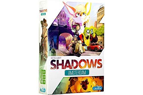 Asmodee Italia Shadows Amsterdam Juego de Mesa, Color Blanco ...