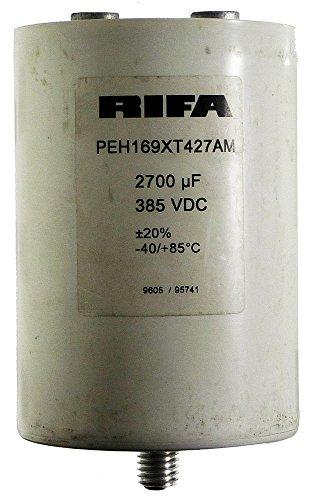 Price comparison product image NOS: RIFA Condenser 2700µF 385VDC PEH169XT427AM 12535