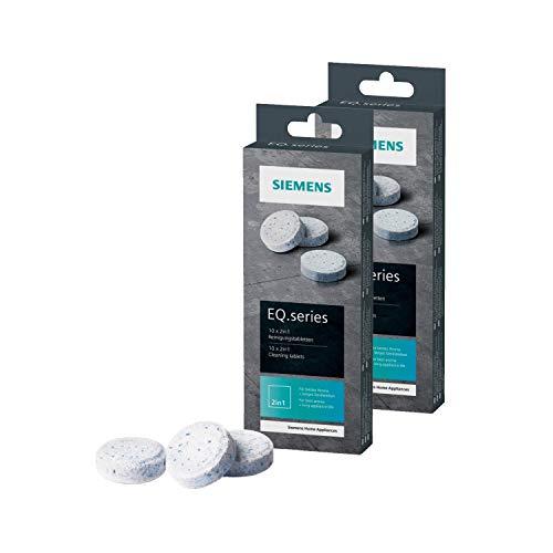 Siemens, Reinigungstabletten für Kaffeevollautomaten, TZ80001, 2 Packungen