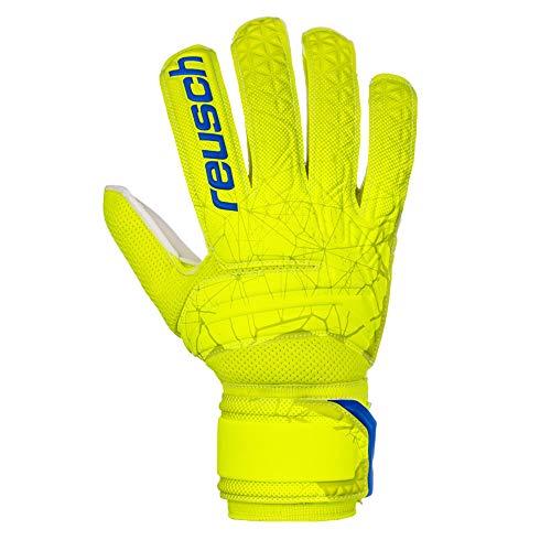 Reusch Herren Fit Control SD Torwarthandschuhe, Lime/Safety Yellow, 9