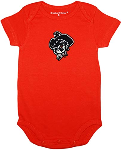 Oklahoma State University (OSU) Cowboys Phantom Pete Newborn Baby Bodysuit Orange