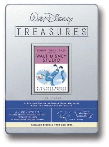 Walt Disney Treasures - Behind the Scenes at the Walt Disney Studio