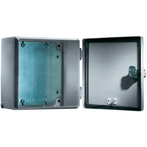 RITTAL Elektro Box EB Wandmodell pulverbeschichtet an der Aussenseite RAL 7035 150x150x120mm