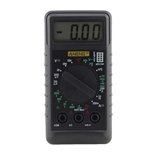 ANENG digitale mini-multimeter met buzzer bescherming tegen overbelasting ampère ohm zakmes