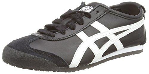 Onitsuka Tiger Mexico 66 Dl408-9001, Sneaker Hombre, Black (Black/White 9001), 43.5 EU