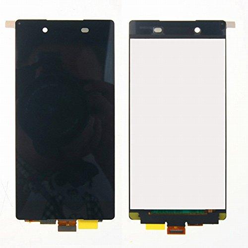 WeDone Kompatibel mit Sony Xperia Z3+ Z3 Plus Z4 E6553 E6533 LCD Display Touchscreen Digitizer Glas Assembly Ersatzteile + Klebeband & Werkzeuge (schwarz)