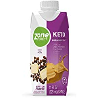 12-Count Zone Perfect Butter Coffee True Keto Macros Shake
