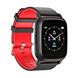 Smart Watch for Women Men - Sysmarts 1.22 Inch Touch Screen Sport Watch for Android&iOS, Fitness Activity Tracker with Heart Rate Monitor, Bluetooth, IP67 Waterproof