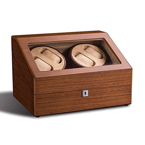 XUSHEN-HU 4 + 6 automático Watch Winder, Caso de exhibición de Almacenamiento Caja de Regalo del Organizador