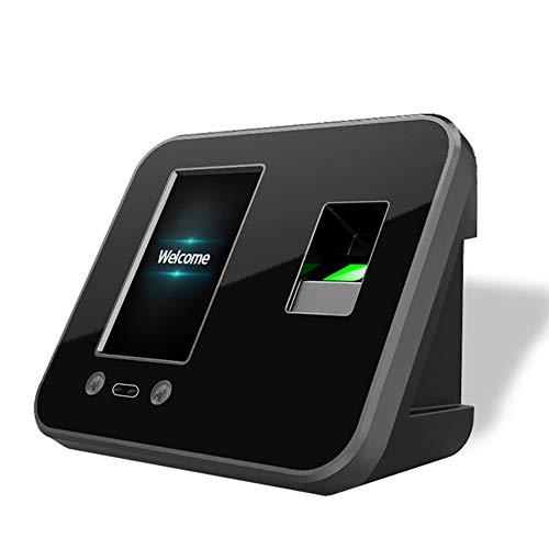 Gesichtserkennung + Fingerabdruck-Anwesenheitsgerät, Unterstützung der Maschinenzeituhr Gesichtsfingerabdruck-Passwort Mitarbeiter Einchecken Recorder Reader-Unterstützung Festplattenzugriffskontrol