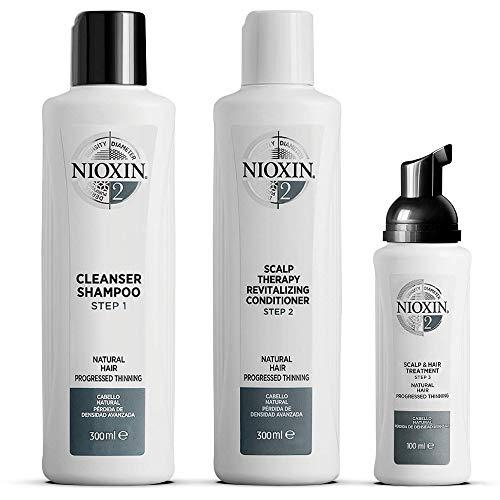 NIOXIN - Kit de 3 pasos - Tratamiento para Cabello natural c