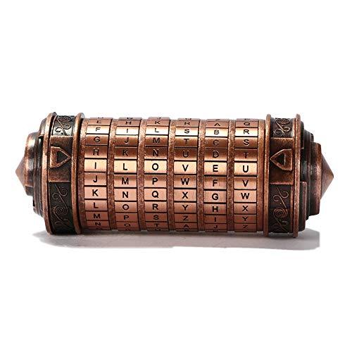 Cryptex Da Vinci Code Mini Cryptex Lock Puzzle Boxes with Hidden Compartments Anniversary...