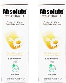 Absolute(アブソリュート)女性用液体ソープ 60ml 2本セット[並行輸入品][海外直送品]