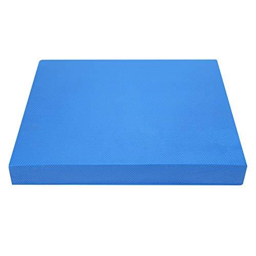 CHENGGONG Almohadilla de Yoga, Cojines equilibrados S/L, para Cintura, Abdomen, Rodillas(S, Blue)