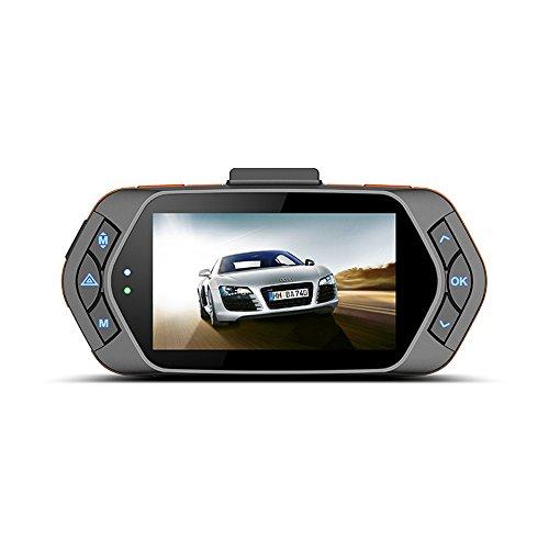 ETTG 2.7' TFT Screen HD Dash-Cam Camera Recorder Car DVR w/ GPS Tracker 160 Degree Wide Angle Loop...