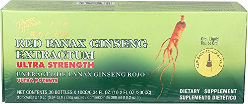 Red Panax Ginseng Extractum (400mg) 30 bttls