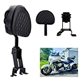 AUFER Detachable Adjustable Plug-in Driver Backrest + Mounting Kit, for Chief Chieftain Roadmaster Springfield 2014-2018