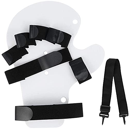 XXGJK Dispositivo de Entrenamiento de Dedos, ortopédicos para Dedos, diapasón, hemiplejía, férula de Mano, Soporte de Entrenamiento para hemiplejía, lesión Cerebral traumática