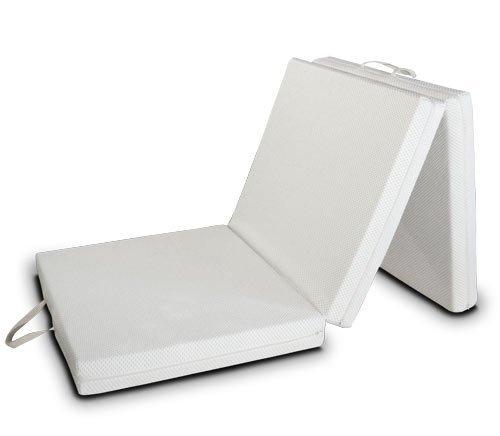 EvergreenWeb Futon Easy colchón, Plegable, Ahorro de Espacio, Plaza Individual (80x200)