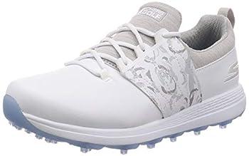 Skechers Women s Eagle Spikeless Golf Shoe White/Gray Floral 9.5 W US