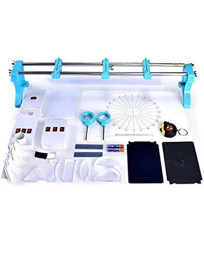 LLC 30 Stück Optik Physikalische Laborausrüstung Optische Bank Keine Montage Erforderlichphysikalisches Labor-Kit Optische Lerninstrumente Für Kinder