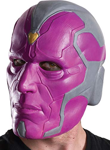 Captain america 3 Vision 3/4 Costume Mask Adult One Size