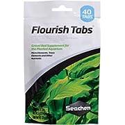 Seachem Flourish Tabs Growth Supplement - Aquatic Plant Stimulant 40 ct
