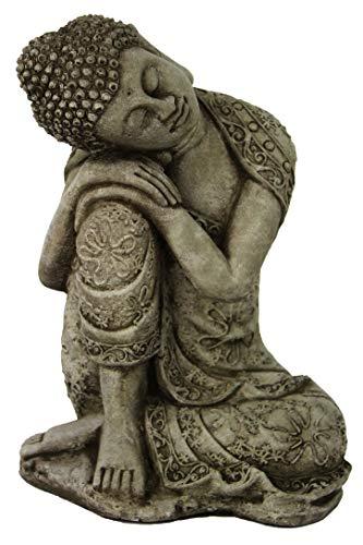 Thai Buddha Meditating Sitting Buddha Garden Statues Concrete Asian Statue Chinese Outdoor Buddha Statuary Cast Stone Figurine