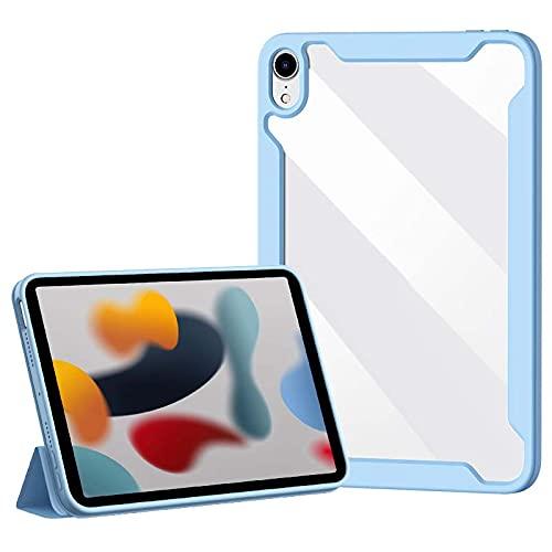 TENGFA Funda para iPad Mini 6ª generación 2021, cubierta magnética desmontable, compatible con lápiz 2