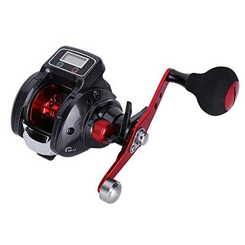 RiToEasysports Digital Spinning Fishing Reel,Long Throwing Fishing Casting Reel Rock Fishing Wheel