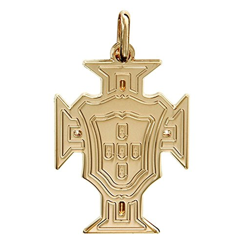 HELIOS BIJOUX - Pendentif Croix du Portugal - Plaqué Or - Neuf