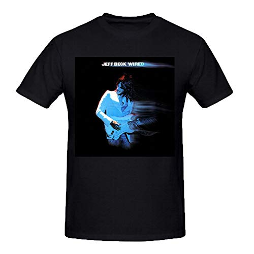 GJDEKFGEJH Jeff Beck Wired Men tee Shirts